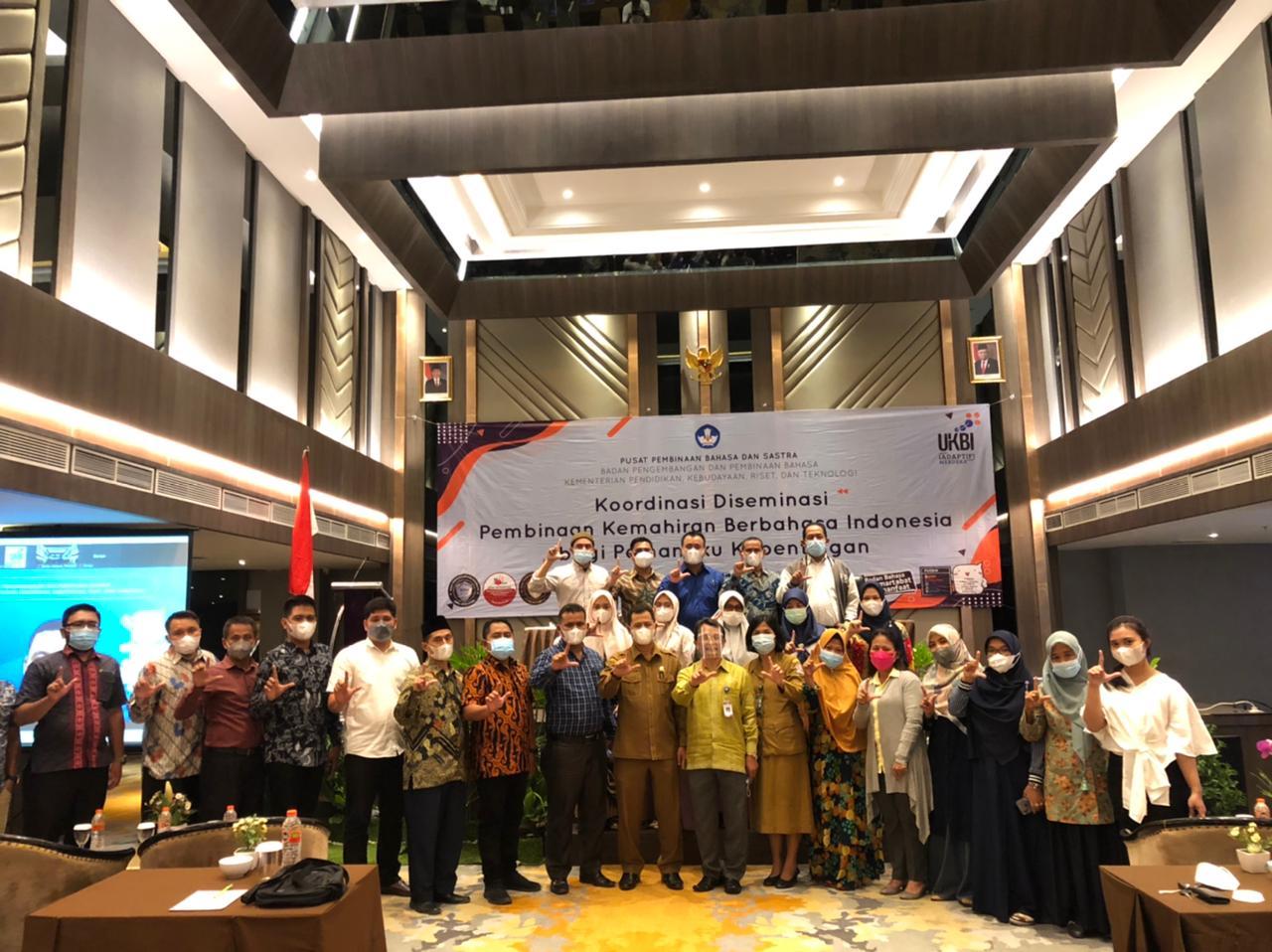 Koordinasi Diseminasi Pembinahan Kemahiran Berbahasa Indonesia Bagi Pemangku Kepentingan